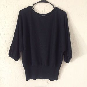 Style and Company size XL over head light sweater
